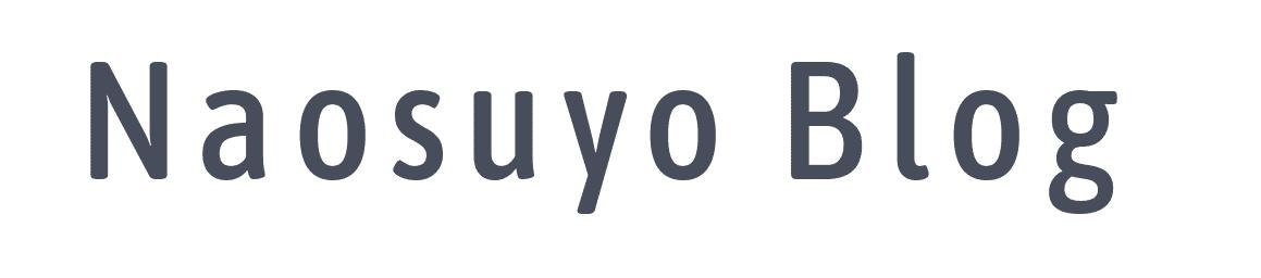 Naosuyo Blog