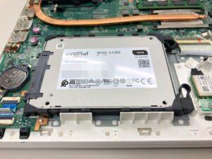 T75/UをSSDに交換する