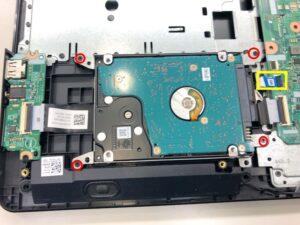 Vostro 15 3568のHDDをSSDに交換する